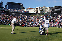 Matt Kuchar (USA) In action during the final round of the The Genesis Invitational, Riviera Country Club, Pacific Palisades, Los Angeles, USA. 15/02/2020<br /> Picture: Golffile | Phil Inglis<br /> <br /> <br /> All photo usage must carry mandatory copyright credit (© Golffile | Phil Inglis)