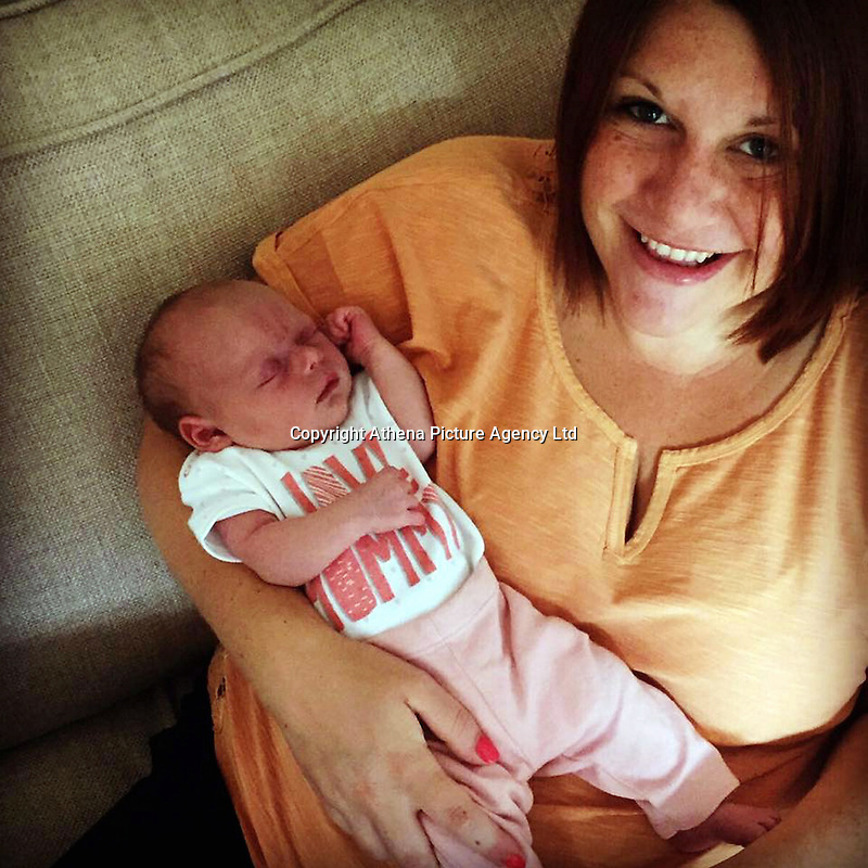 """COPY BY TOM BEDFORD<br /> Pictured: Jodie Ballingall with baby Libbie image taken from their open facebook page<br /> Re: A married couple had their first baby on their joint birthday - against odds of 48 million-to-1.<br /> Baby Libbie arrived on the day her parents Jodie and Mark Ballingall were celebrating their birthdays.<br /> Proud Jodie, 32, said: """"It is an amazing co-incidence, Libbie is the best birthday present we could ever have.<br /> """"She arrived nine days late so it's as if she was waiting to pop out on our birthdays.""""<br /> Libbie was due to arrive on July 23 but was born on August 1 weighing in at 6lb 3ozs.<br /> It means the family from Evesham, Worcs, will have a triple birthday party for years to come.<br /> Jodie said: """"It was amazing that Mark and I have the same birthday, but now there's three of us sharing a special day."""