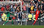 Harry Kane scores the last gasp equaliser for England past Craig Gordon