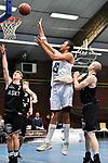 2018-02-18 / Basketbal / Seizoen 2017-2018 / Soba - Ieper / Anthonis (Soba) met een score<br /> <br /> ,Foto: Mpics.be