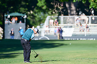 Sergio Garcia (ESP) hits his approach shot on 10 during the round 1 of the Dean &amp; Deluca Invitational, at The Colonial, Ft. Worth, Texas, USA. 5/25/2017.<br /> Picture: Golffile | Ken Murray<br /> <br /> <br /> All photo usage must carry mandatory copyright credit (&copy; Golffile | Ken Murray)