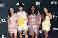 LOS ANGELES - NOV 10:  Jeannie Mai, Tamera Mowry-Housley, Loni Love, Adrienne Houghton at the 2019 People's Choice Awards at Barker Hanger on November 10, 2019 in Santa Monica, CA
