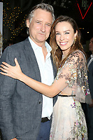 """LOS ANGELES - SEP 16:  Bill Pullman, Jessica McNamee at the """"Battle of the Sexes"""" LA Premiere at the Village Theater on September 16, 2017 in Westwood, CA"""