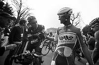 Milan-San Remo 2012.raceday.George Hincapie & Greg Henderson