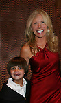 Beth Chamberlin and son Luke - Guiding Light Actors dress up for the Captain's Dinner aboard Carnival's Glory - Day 2 - August 1, 2010 - So Long Springfield at Sea - (Photos by Sue Coflin/Max Photos)