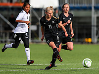 Jacqui Hand. OFC U-19 Women's Championship 2017, New Zealand v Fiji, Ngahue Reserve Auckland, Tuesday 11th July 2017. Photo: Simon Watts / www.bwmedia.co.nz