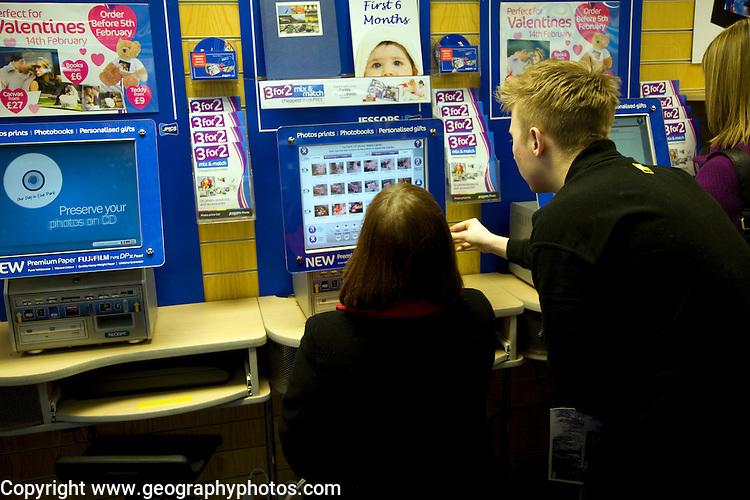 Inside Jessops photography shop, Ipswich