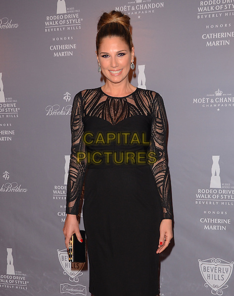 28 February 2014 - Los Angeles, California - Daisy Fuentes. Arrivals for the Rodeo Drive Walk of Style honoring Catherine Martin at Greystone Mansion in Los Angeles, Ca.<br /> CAP/ADM/BT<br /> &copy;Birdie Thompson/AdMedia/Capital Pictures