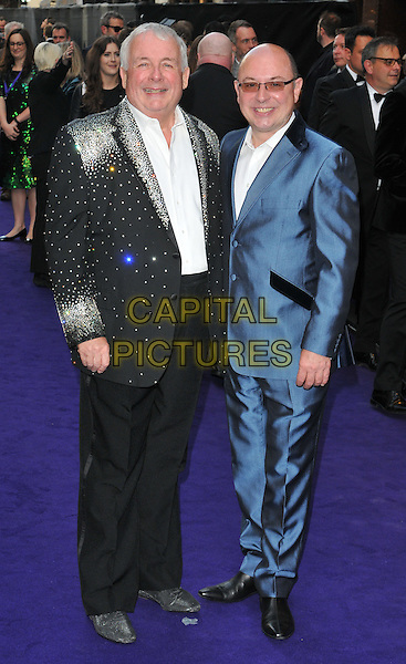 Christopher Biggins &amp; Neil Sinclair at the &quot;Disney's Aladdin&quot; press night, Prince Edward Theatre, Old Compton Street, London, England, UK, on Wednesday 15 June 2016.<br /> CAP/CAN<br /> &copy;CAN/Capital Pictures