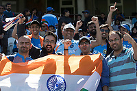 Supporters were out in force during India vs New Zealand, ICC World Cup Warm-Up Match Cricket at the Kia Oval on 25th May 2019