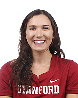 Stanford, CA - September 20, 2019: Hannah Dudley, Athlete and Staff Headshots