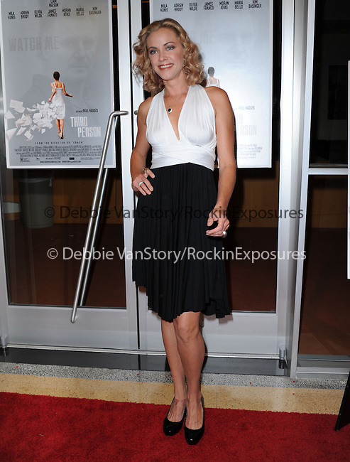 "Kristanna Loken attends The Sony Picture Classics LA Premiere of ""THIRD PERSON"" held at The Pickford Center for Motion Picture Studio / Linwood Dunn Theatrein Hollywood, California on June 09,2014                                                                               © 2014 Hollywood Press Agency"