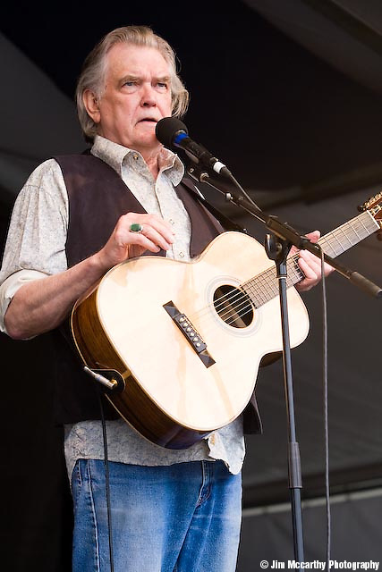 Guy Clark at Jazz Fest 2009