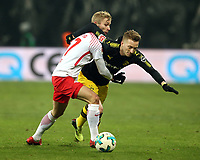 Konrad Laimer, Marco Reus /   /        /      <br /> 1. Bundesliga /  2017/2018 / 03.03.2018 / RB Leipzig RBL vs. BVB Borussia Dortmund 180303027 /        *** Local Caption *** © pixathlon<br /> Contact: +49-40-22 63 02 60 , info@pixathlon.de