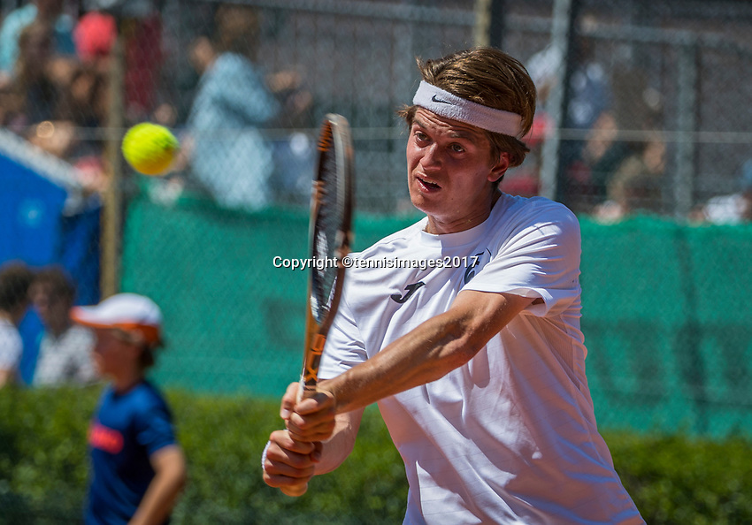 The Hague, Netherlands, 11 June, 2017, Tennis, Play-Offs Competition, Steffan Gerritsen,  Salland<br /> Photo: Henk Koster/tennisimages.com
