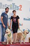 Sara Escudero during Premiere Mascotas 2 at Autocine Madrid Race on July 18, 2019 in Madrid, Spain.<br />  (ALTERPHOTOS/Yurena Paniagua)