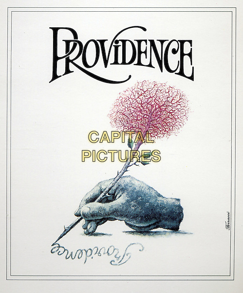KEY POSTER ART<br /> in Providence (1977) <br /> *Filmstill - Editorial Use Only*<br /> CAP/FB<br /> Image supplied by Capital Pictures