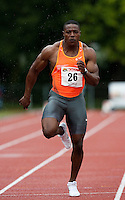 29 JUL 2009 - LOUGHBOROUGH, GBR - Harry Aikines Aryeetey -  Loughborough European Athletics Permit Meeting.(PHOTO (C) NIGEL FARROW)
