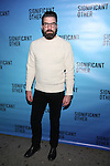 Zachary Quinto attends the Broadway Opening Night performance for 'Significant Other' at the Booth Theatre on March 2, 2017 in New York City.