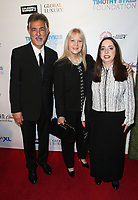 BEVERLY HILLS, CA - NOVEMBER 11: Joe Mantegna, Arlene Vrhel, Mia Mantegna, at AMT's 2017 D.R.E.A.M. Gala at The Montage Hotel in Beverly Hills, California on November 11, 2017.  <br /> CAP/MPI/FS<br /> &copy;FS/MPI/Capital Pictures