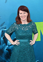 "LOS ANGELES, CA - August 06, 2018: Kate Flannery at the US premiere of ""The Meg"" at the TCL Chinese Theatre"