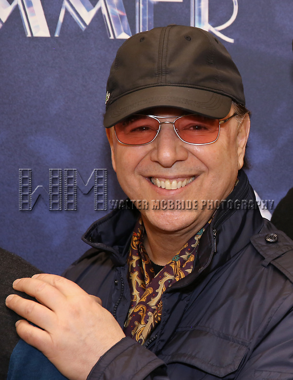 """Tommy Mottola attends the Meet & Greet for """"Summer: The Donna Summer Musical"""" on March 8, 2018 at the New 42nd Street Studios,  in New York City."""