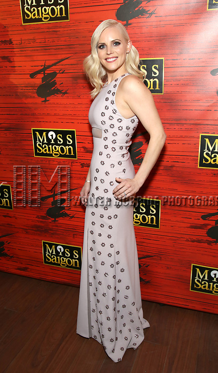 """attends The Opening Night After Party for the New Broadway Production of """"Miss Saigon"""" at Tavern on the Green on March 23, 2017 in New York City"""