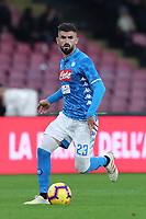 Elseid Hysaj  Napoli<br /> Napoli 22-12-2018  Stadio San Paolo <br /> Football Campionato Serie A 2018/2019 <br /> Napoli - Spal<br /> Foto Cesare Purini / Insidefoto