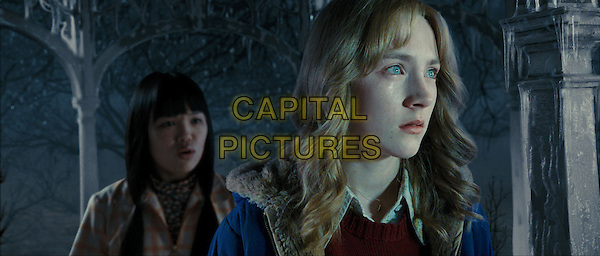 NIKKI SOOHOO & SAOIRSE RONAN.in The Lovely Bones.*Filmstill - Editorial Use Only*.CAP/FB.Supplied by Capital Pictures.