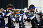 COLUMBUS, OH - MARCH 11: Hanna Carr of the University of Kentucky  competes during the Division I Rifle Championships held at The French Field House on the Ohio State University campus on March 11, 2017 in Columbus, Ohio. (Photo by Jay LaPrete/NCAA Photos via Getty Images)