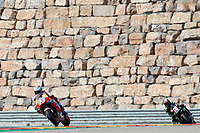 Marc Marquez (Repsol Honda Team) in action during  Gran Prix Movistar the Aragón. 22-09-2018  September 22, 2018.