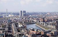 Nederland - Rotterdam- 26 maart 2018.  Schiemond en Delfshaven. De Coolhaven. Op de achtergrond de Lee Towers.  Foto Berlinda van Dam / Hollandse Hoogte  Foto Berlinda van Dam / Hollandse Hoogte.