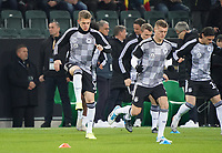 Matthias Ginter (Deutschland Germany), Toni Kroos (Deutschland Germany) - 16.11.2019: Deutschland vs. Weißrussland, Borussia Park Mönchengladbach, EM-Qualifikation DISCLAIMER: DFB regulations prohibit any use of photographs as image sequences and/or quasi-video.