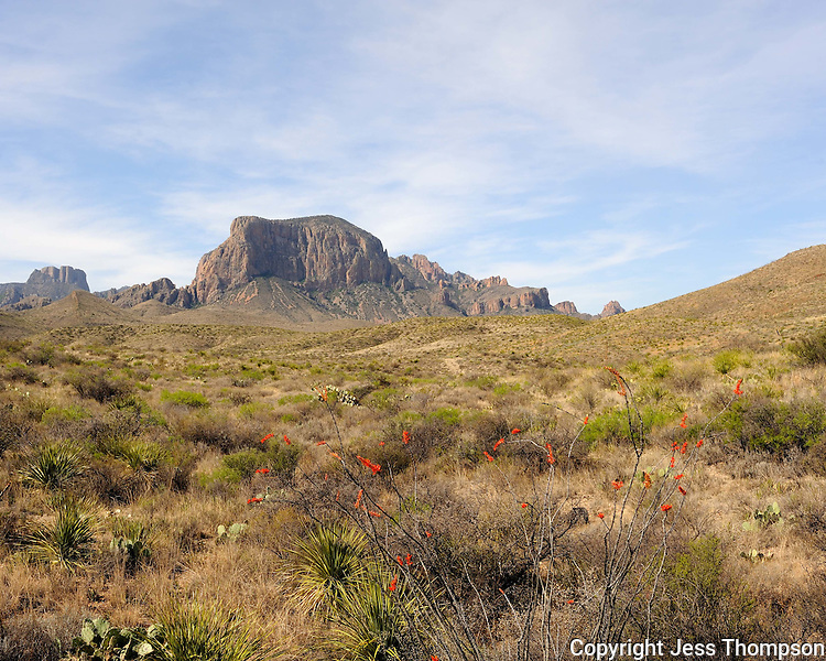 Mountains in Big Bend National Park, Texas