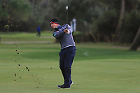 Rhys Enoch (WAL) on the 15th fairway during Round 4 of the Challenge Tour Grand Final 2019 at Club de Golf Alcanada, Port d'Alcúdia, Mallorca, Spain on Sunday 10th November 2019.<br /> Picture:  Thos Caffrey / Golffile<br /> <br /> All photo usage must carry mandatory copyright credit (© Golffile | Thos Caffrey)