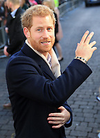01 December 2017 - Prince Harry. Terrence Higgins Trust World AIDS Day Charity Fair at Nottingham Contemporary in Nottingham, Nottinghamshire. Photo Credit: Stephen Daniels/ALPR/AdMedia