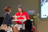 2011-02-08, Tennis, Rotterdam, ABNAMROWTT,  Authograph Lopez, Achmea.