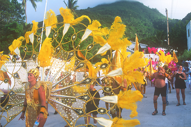Summer Celebration, Saba, Caribbean..