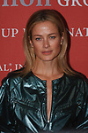 Model Carolyn Murphy arrives at The Fashion Group International's Night of Stars 2017 gala at Cipriani Wall Street on October 26, 2017.