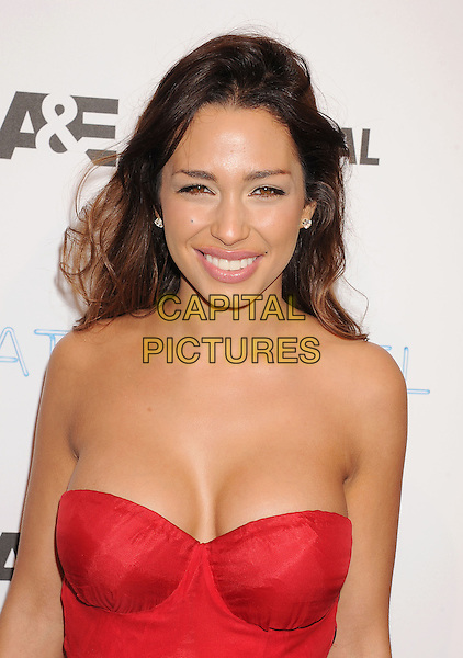LOS ANGELES, CA- FEBRUARY 26: Actress/model Sofia Valleri arrives at the premiere party for A&amp;E's Season 2 of 'Bates Motel' and the series premiere of 'Those Who Kill' at Warwick on February 26, 2014 in Los Angeles, California.<br /> CAP/ROT/TM<br /> &copy;Tony Michaels/Roth Stock/Capital Pictures