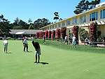 putting green at Pebble Beach