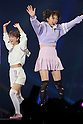 (L-R) Nana Suzuki, Mikan, Feb 28, 2015  2015 S/S : February 28, 2015 : Fashion Runway Show of TOKYO GIRLS COLLECTION by girlswalker.com 2015 SPRING/SUMMER at Yoyogi Gymnasium in Shibuya, Japan.