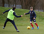 Billy Gilmour takes on Andy Halliday