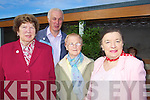 Pictured at Ballyheigue Pattern day on wednesday were Bridie Landers Gortaclea, Tom Landers, Gortaclea, Kit Dillon, Listowel and Mary Foley, Listowel.