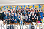 St. Senan's GAA Social: Attending St. Senan's Victory Dinner Dance at the Listowel Arms Hotel on Saturday night last were the victorious 2018 team and mentors with Shane Browne holding the cup.