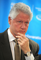 ***FILE PHOTO*** Bill Clinton Has Not Apologized To Monica Lewinsky And Claims Did The Right Thing Staying In Office.<br /> <br /> Bill Clinton attends the press conference for The Alliance for a Healthier Generation, a joint initiative of the American Heart Association and the William J. Clinton Foundation, in Harlem, New York on February 19, 2009. <br /> CAP/MPI01<br /> &copy;MPI01/Capital Pictures