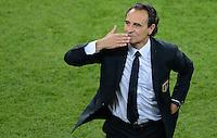FUSSBALL  EUROPAMEISTERSCHAFT 2012   VORRUNDE Italien - Irland                       18.06.2012 Trainer Cesare Prandelli (Italien)