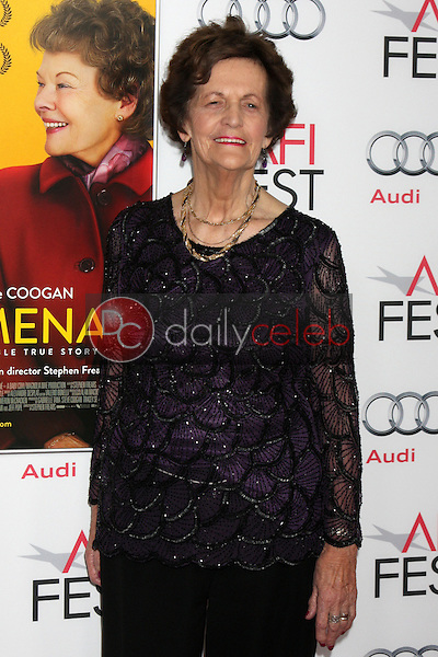 """LOS ANGELES - NOV 13:  Philomena Lee at the """"Philomena"""" Special Screening at AFI Fest at TCL Chinese Theater on November 13, 2013 in Los Angeles, CA"""