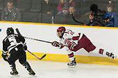 Kyle McKenzie (PC - 5), Jake Horton (Harvard - 19) - The Harvard University Crimson defeated the Providence College Friars 3-0 in their NCAA East regional semi-final on Friday, March 24, 2017, at Dunkin' Donuts Center in Providence, Rhode Island.