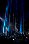 CORAL GABLES, FL - JULY 14: Luis Figueroa and Marc Anthony performs onstage at the Univision's 13th Edition Of Premios Juventud Youth Awards at Bank United Center on July 14, 2016 in Carol Gables, Florida.  ( Photo by Johnny Louis / jlnphotography.com )